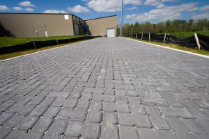 Pavers Stand Up to Heavy Truck Traffic